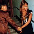 Naomi Campbell and Adam Clayton - 454 x 319