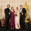 Christian Bale, Natalie Portman, Colin Firth and Melissa Leo At The 83rd Academy Awards (2011)