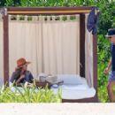 Jessica Alba – On the Beach in Mexico