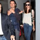 Orlando Bloom and Miranda Kerr touched down in Sydney, Australia with little Flynn on Thursday morning (December 22)