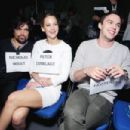 Jennifer Lawrence and Nicholas Hoult at Comic Con, San Diego (July 20)