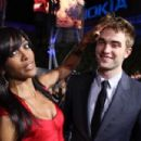 Robert Pattinson  with Shaun Robinson for ET - 454 x 302