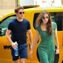 Hailee Steinfeld and Niall Horan – Shopping at Saks Fifth Avenue in NYC