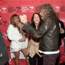 Robert Plant attends the Third Annual Love Rocks NYC Benefit Concert for God's Love We Deliver on March 07, 2019 in New York City - 454 x 302