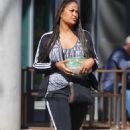 Laila Ali – Shopping candids in Los Angeles - 454 x 725