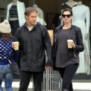 Anne Hathaway and her husband Adam Shulman out and about in Beverly Hills on January 06, 2015