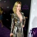 Actress Bella Heathcote arrives at the premiere of Amazon's
