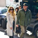 Avril Lavigne and Phillip Sarofim – Leaving SiriusXM Radio in New York City - 454 x 611