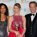 Naomie Harris, Laura Dern and Richard E. Grant  – 2020 British Academy Film Awards in London - 454 x 308