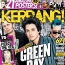 Green Day - Kerrang Magazine Cover [United Kingdom] (20 August 2016)