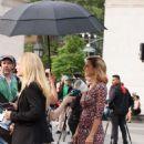 Lola Glaudini – Filming 'Ray Donovan' in New York - 454 x 736