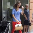 Pippa Middleton: hit up a Manhattan restaurant