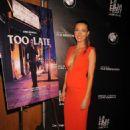 Natalie Zea Too Late Premiere At 2015 La Film Festival