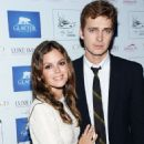 Rachel Bilson gets close to her beau Hayden Christensen at the Glacier Films launch party held aboard the Yacht Harle on Sunday (May 19, 2013)