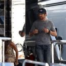 Gerard Butler: Boating with Moran Atias