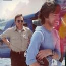 Pilot Nicholas Cage with Mick Jagger