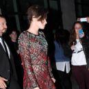 Kristen Stewart Leaving the 'Camp X-Ray' Screening, New York (October 06, 2014)