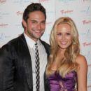 Brandon Barash and Natalie Hall
