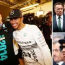 Lewis Hamilton joins Formula 1 legends and Arnold Schwarzenegger for Niki Lauda's funeral