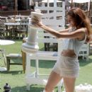 Blanca Blanco – Playing Giant Chess in Malibu