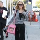 Paris Hilton – Heads the spa in West Hollywood