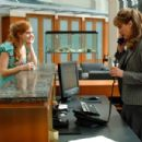 AMY ADAMS and JODI BENSON in ENCHANTED ©Disney Enterprises, Inc. All rights reserved. Photo Credit: BARRY WETCHER/SMPSP