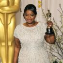 Octavia Spencer At The 84th Annual Academy Awards - Press Room (2012)