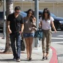 Jenna Dewan lunching with friends in Beverly Hills, CA, October 2, 2010
