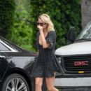 Margot Robbie in Mini Dress – Out in Los Angeles