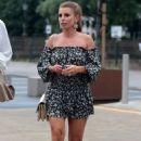 Coleen Rooney in Mini Dress – Night Out at Menagerie in Manchester - 454 x 681
