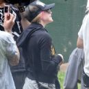 Avril Lavigne at Sydney's Taronga Zoo, March 29, 2011