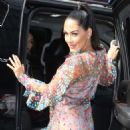 Brie and Nikki Bella – Arrive at Good Day NY in New York