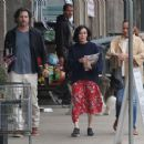 Shannen Doherty – Shopping at vintage market in Malibu - 454 x 367
