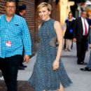 Scarlett Johansson At The Late Show With Stephen Colbert' TV show in New York City - 454 x 652