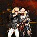 Orianthi and Sammy Hagar perform onstage during MusiCares Person of the Year honoring Aerosmith at West Hall at Los Angeles Convention Center on January 24, 2020 in Los Angeles, California - 400 x 600