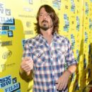 Musician and director Dave Grohl arrives at the screening of