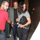 Courteney Cox – Night Out in Beverly Hills