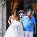 Lorena Rae – On set of a wedding themed photoshoot in Miami