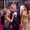 Kristin Chenoweth, Michael Douglas and Catherine Zeta-Jones At The 85th Annual Academy Awards - Arrivals (2013)