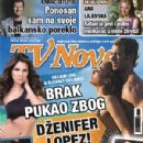 Kivanç Tatlitug, Jennifer Lopez, William Levy, Maite Perroni - TV Novele Magazine Cover [Serbia] (June 2011)