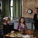 L to R: Matt Dallas as Jake, Cary Elwes as Ethan, Andie MacDowell as Helen and Frank Whaley as Aaron in As Good as Dead.