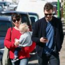 Amelia Warner and Jamie Dornan out in London (April 7, 2015) - 454 x 344