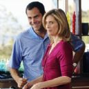 Andy Buckley and Helen Slater