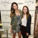Lily Aldridge: attends the launch of Lily Aldridge for Velvet by Graham & Spencer at Bloomingdale's 59th Street in New York City