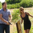Gerard Butler and Jennifer Aniston star in Columbia Pictures' action comedy THE BOUNTY HUNTER. Photo By: Barry Wetcher SMPSP. ©2010 Columbia TriStar Marketing Group, Inc.  All Rights Reserved.