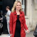Julia Stiles – Leaves KissFM Studio in London - 454 x 863