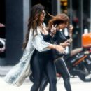 Teresa Giudice heads out for lunch with a friend - 454 x 683