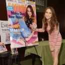 Troian Bellisario attends the Seventeen Magazine February issue unveiling at Barnes & Noble 82nd Street on January 7, 2014 in New York City - 416 x 594