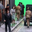 Gemma Arterton Filming Their Finest Hour and A Half In London