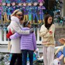 Mila Kunis – Filming 'A Bad Moms Christmas' set in Atlanta - 454 x 667
